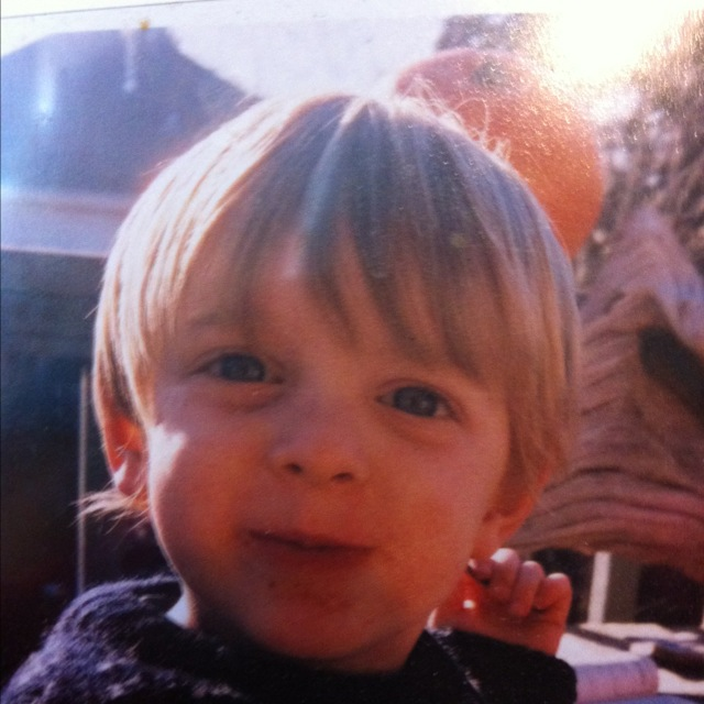 Liam at age two