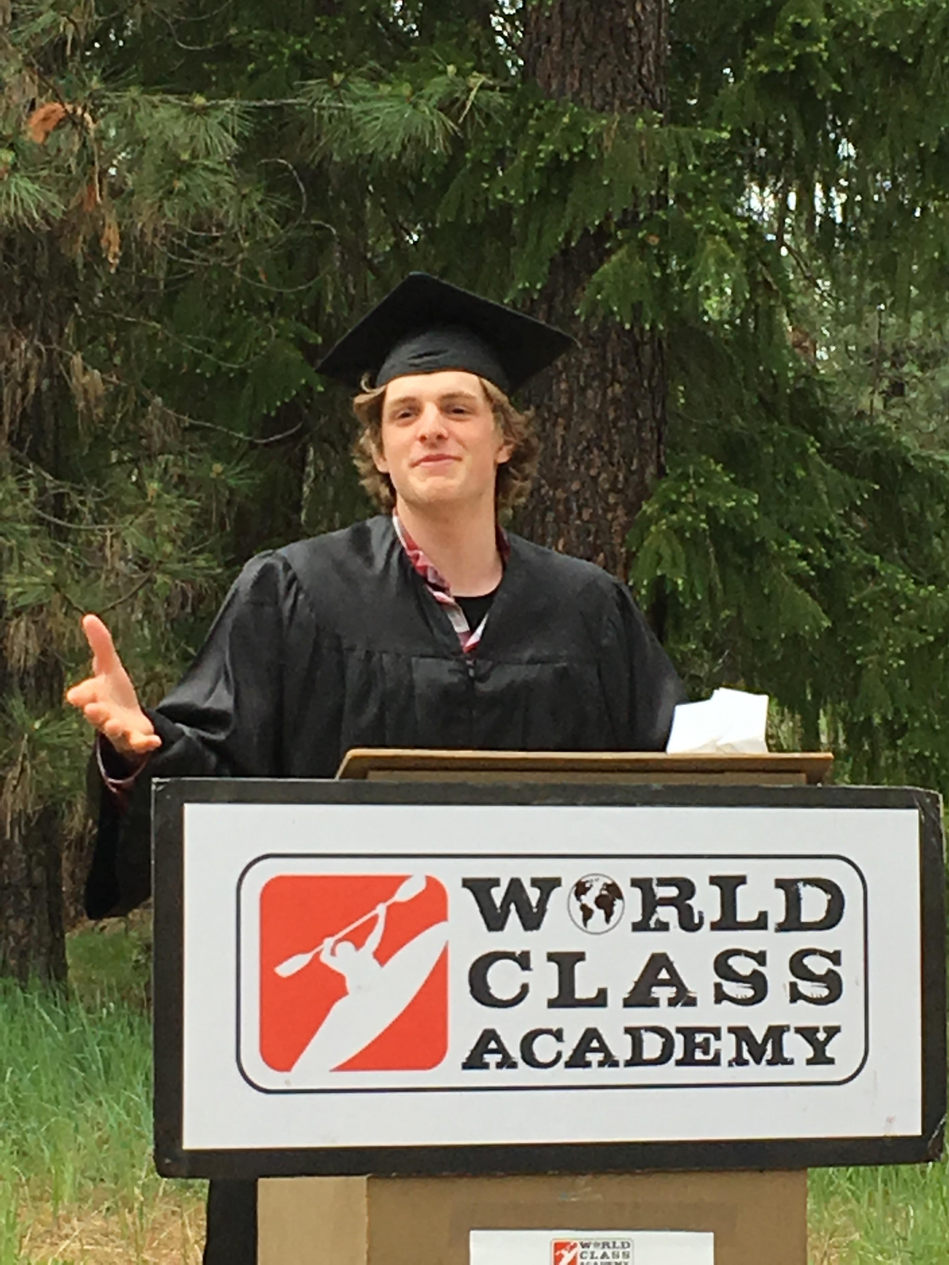 Liam graduation