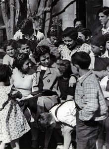 Spanish Orphans During the Spanish Civil War